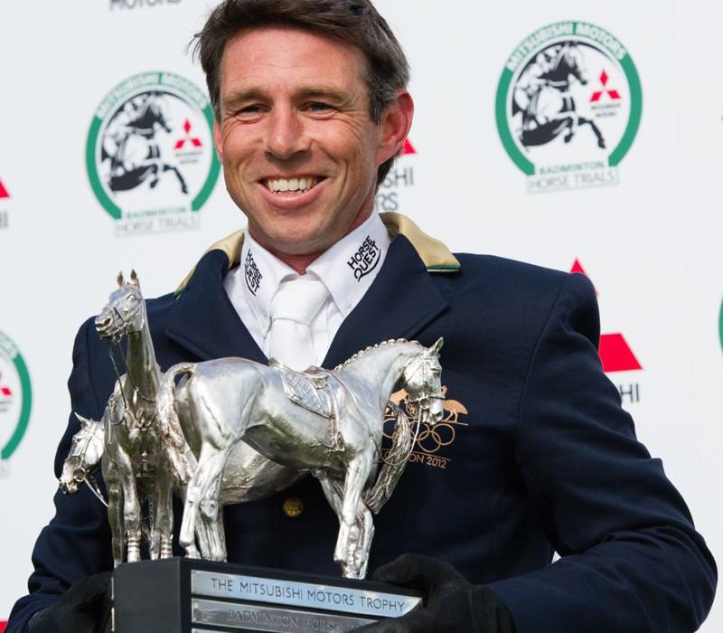 El australiano Sam Griffihts ganador de Badminto 2014. Foto de la web oficial del concurso