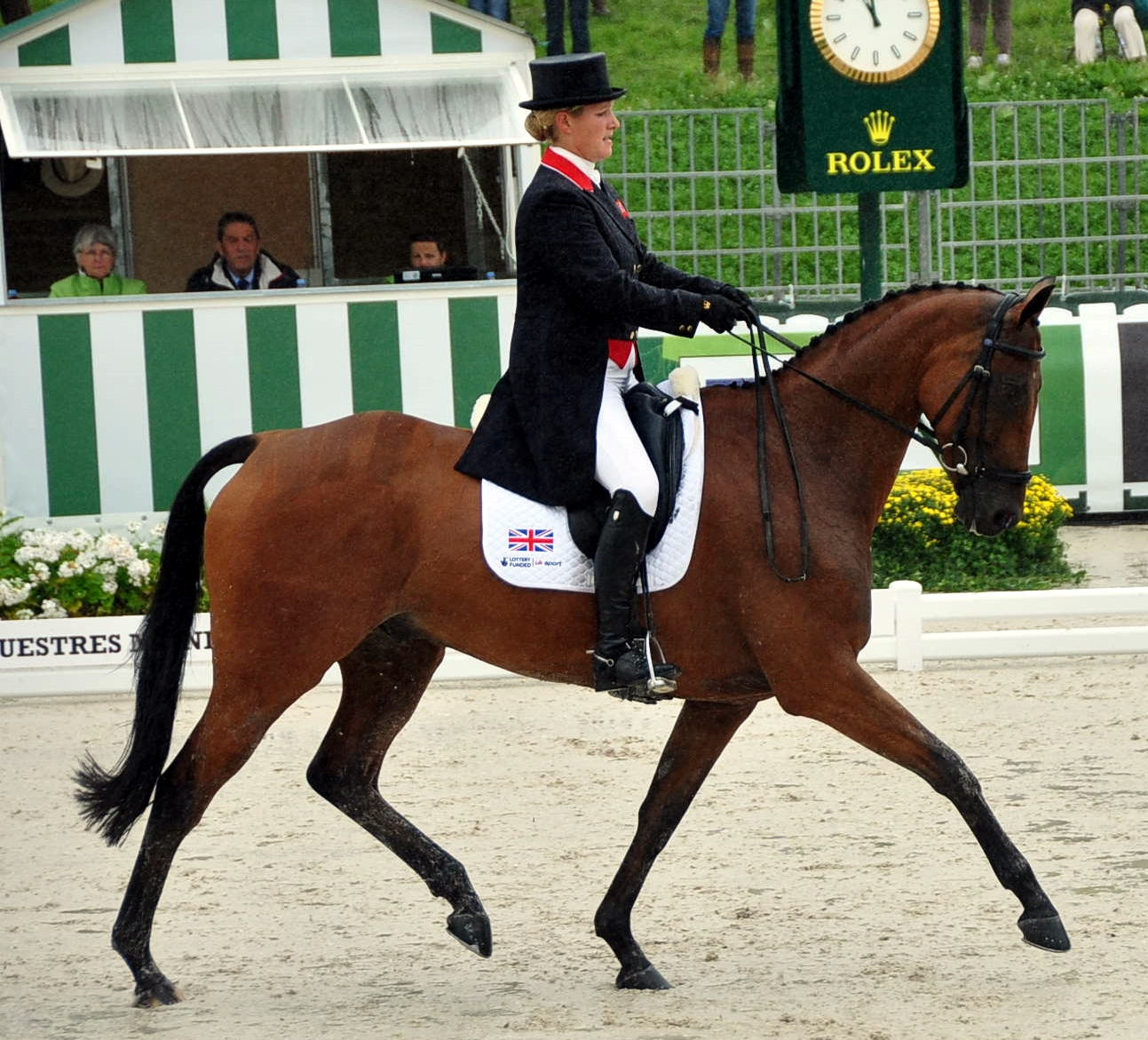 Zara Phillips con HIGH KINGDOOM