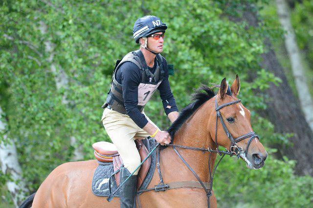 Andrew Nicholson con ULISES. Foto de Horsetalk.co.nz