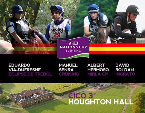Conjuntos españoles para la Copa de Naciones de Houghton Hall 2015