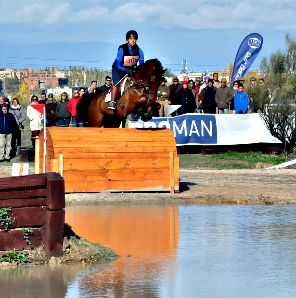 Manuel Senra con CRUISING en La Dehesa. Con el caballo tiene pensado hacerlo a final de mes en el CICO**** británico de Hougton Hall