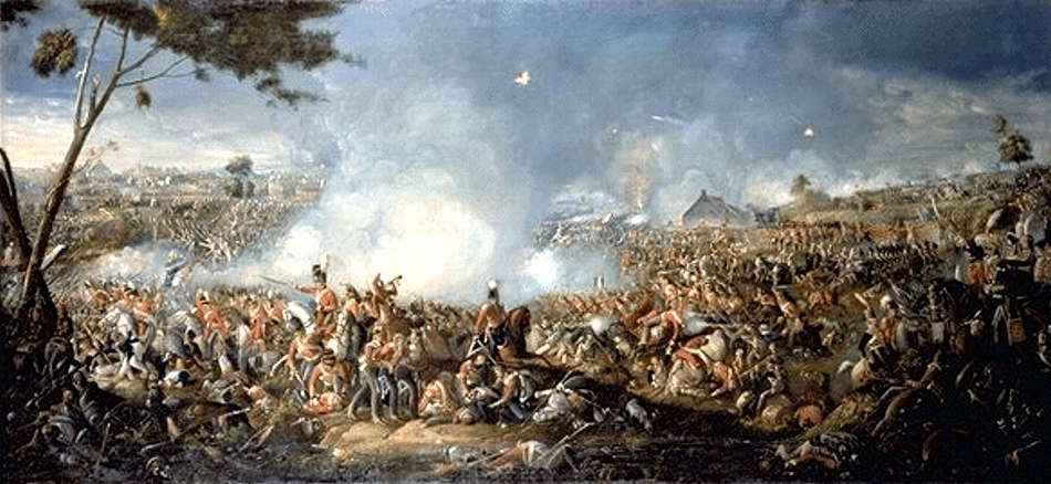 Batalla de Waterloo en Wikipedia