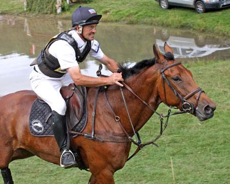 QWANZA con Andrew Nicholson. Foto de horsetalk.co.nz