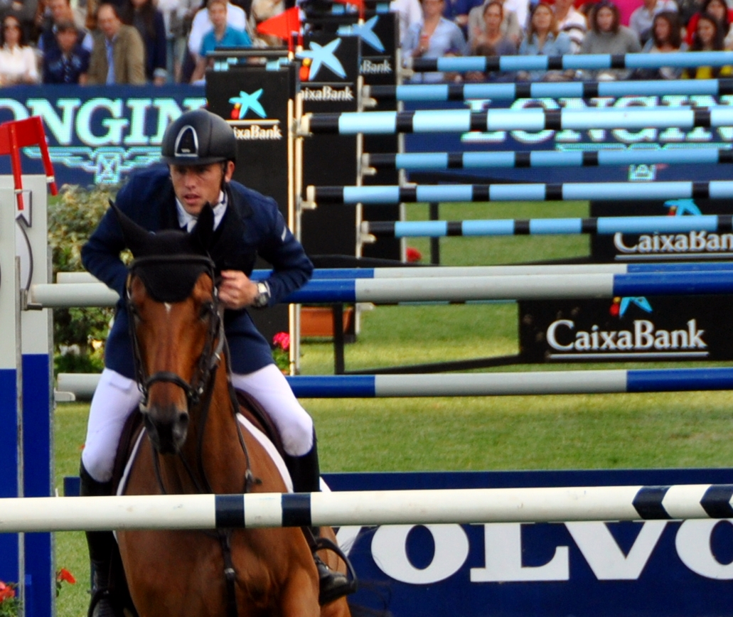 Scott Brash con H. SANCTOS