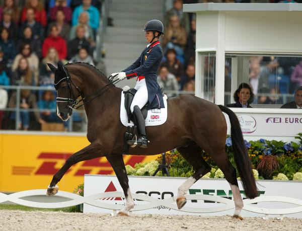 Charlotte Dujardin con VALEGRO. Foto de horsetalk.co.nz