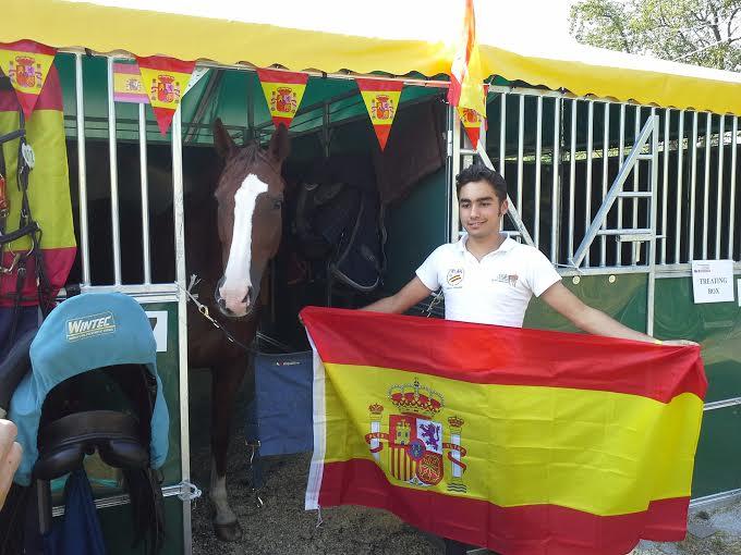 Francisco Gaviño en Strrzegom ek Campeoanato de Europa YR Strzegom
