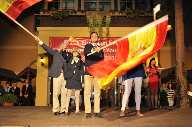Francisco Gaviño en el Cto, de Europa de YR en Strzegom