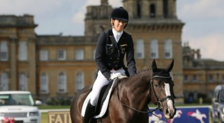 Sandra Auffart con IPSO. Foto de Blenheim