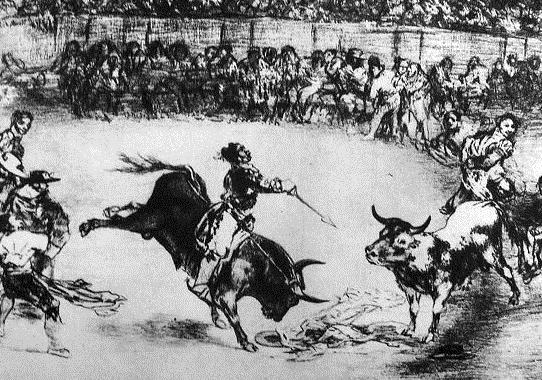 Dibujo de Goya
