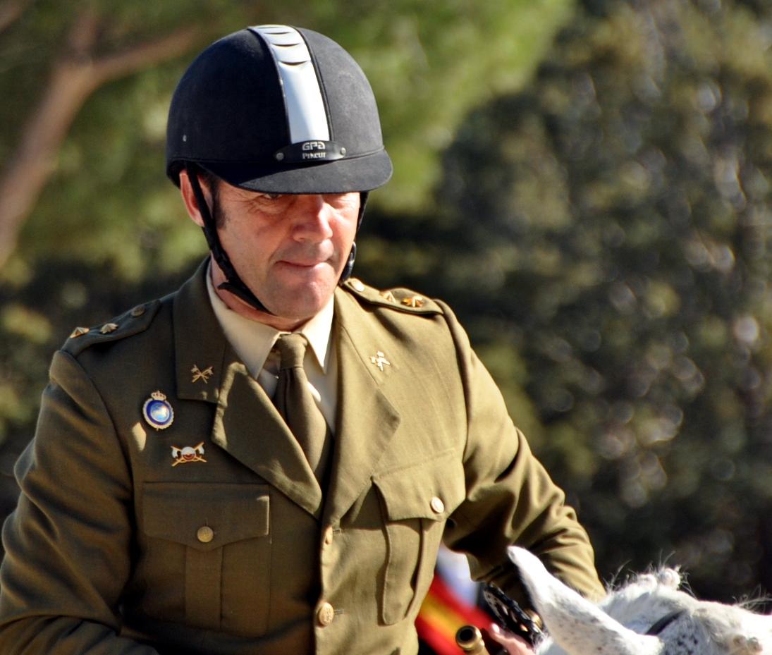 Eduardo Gortázar el mejor jinete militar del concurso