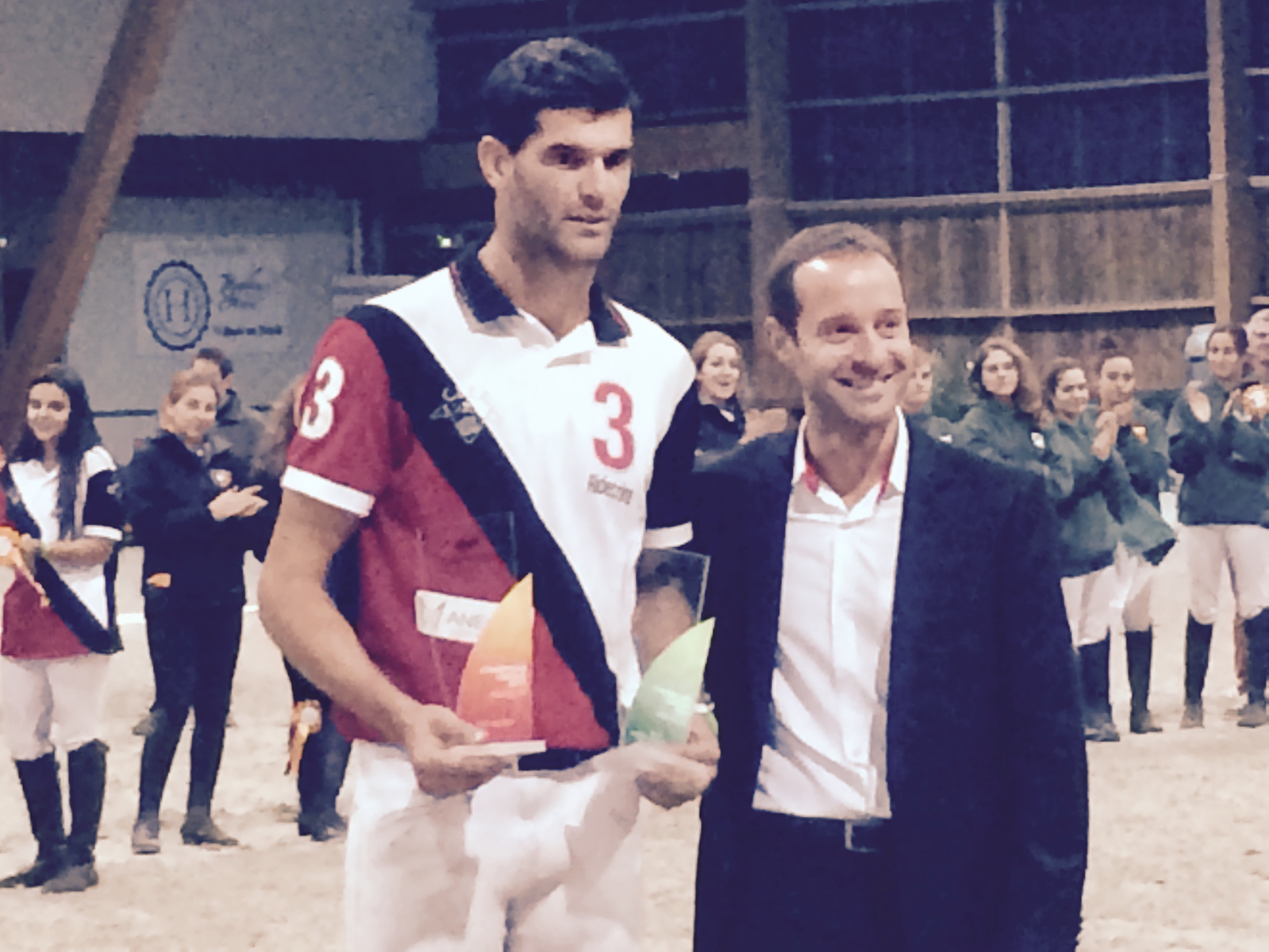Gil Carbonés  y Baldich. Foto de la Federacion Catalana de Hípica