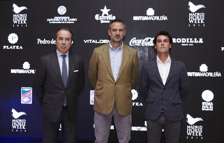 Javier Revuelta, Daniel Entrecanales y Sergio Álvarez Moya
