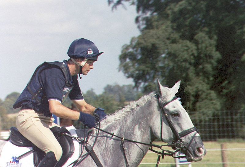Lelie Law con SHEAR H2O en Burghley