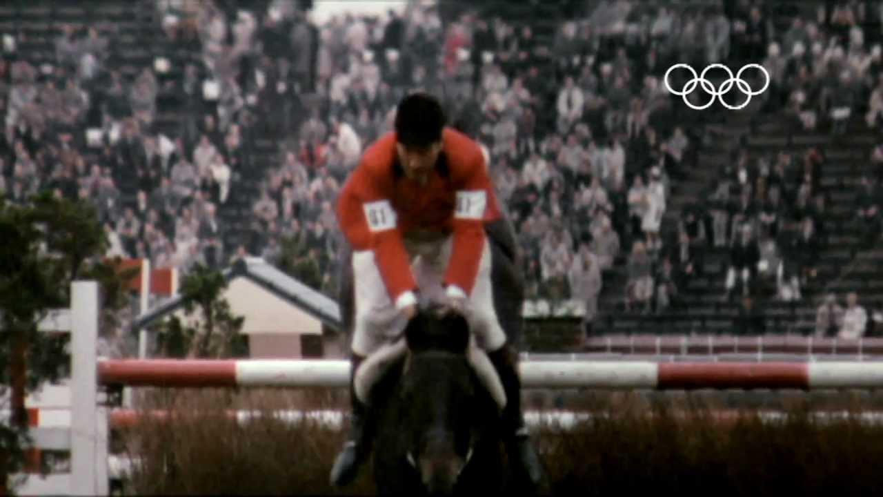 Pierre DOriola con LUTTEUR oro individual en los JJ.OO de Tokio 1964