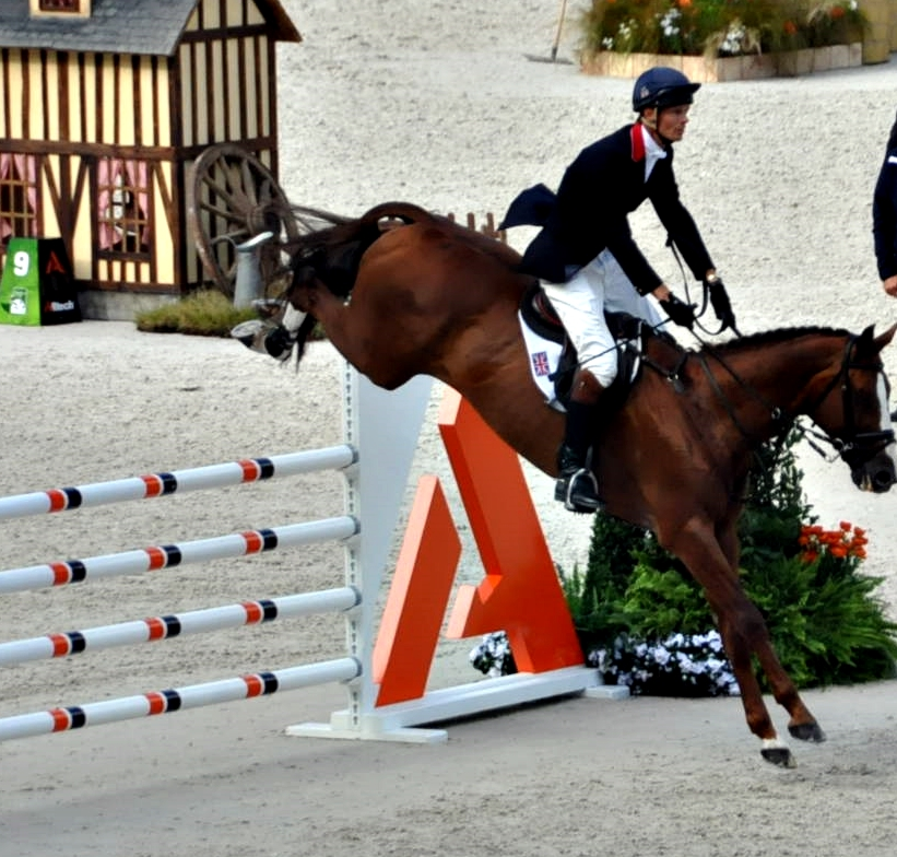 William Fox-Pitt con CHILLI MORNING en los JEM 2014