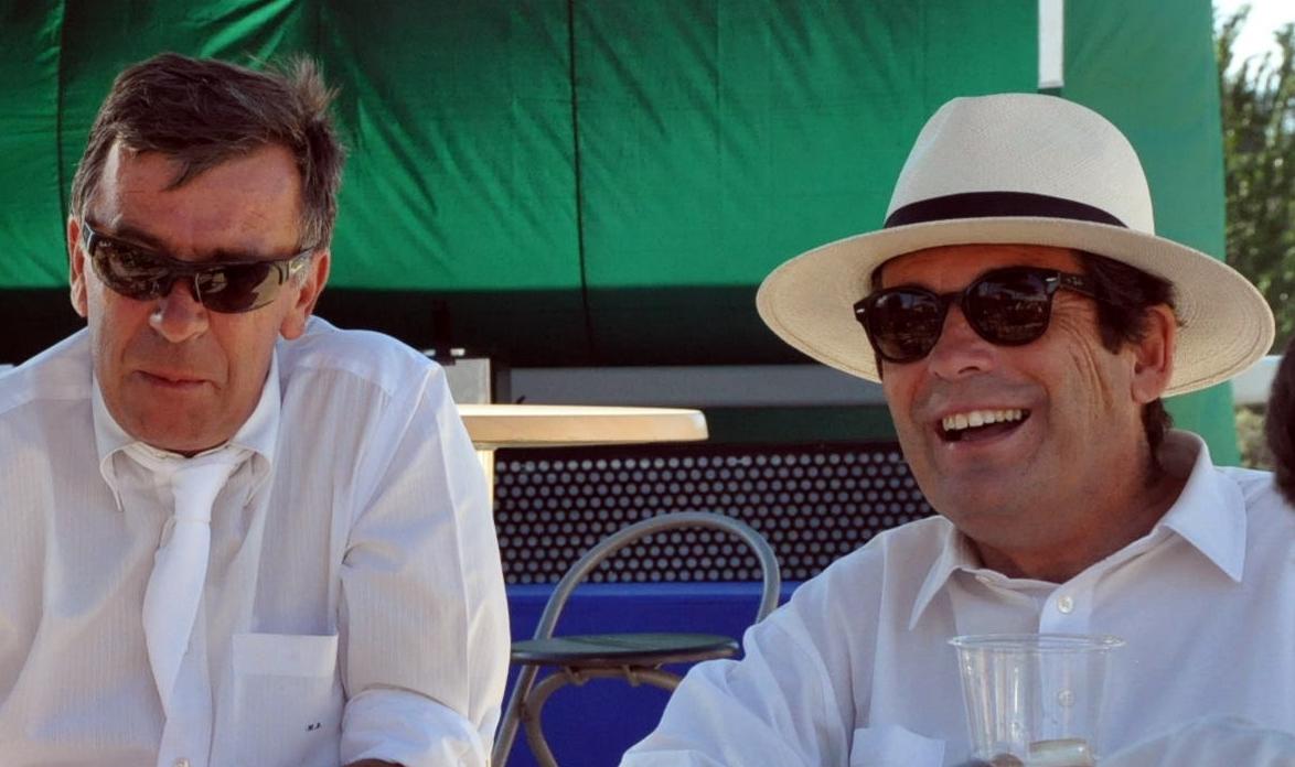 Michel Blaton y Lus Cabanas en la RSHECC