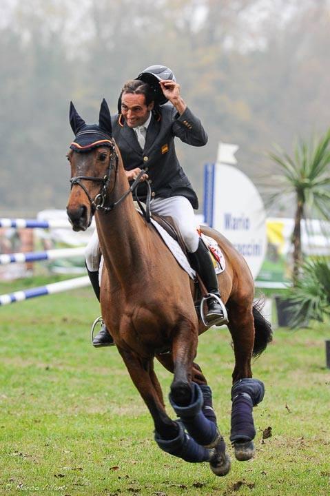 Albert Hermoso con HITO x. ganadores en Ravenna 2015 consiguiendo puntos para los JJ.OO de Río. Foto de Marco Villanti