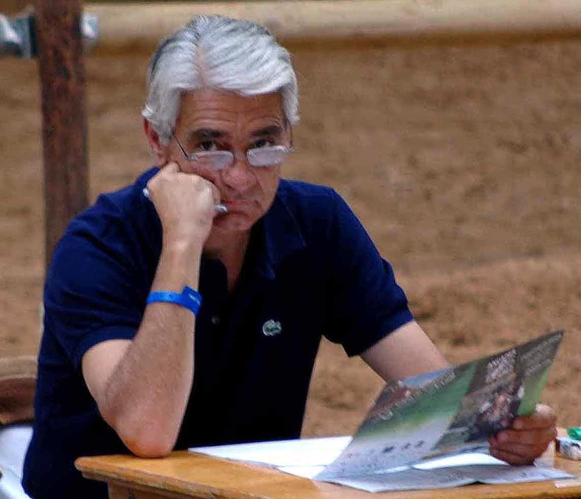J. Arango de juez en una Final de Ancades en Jerez