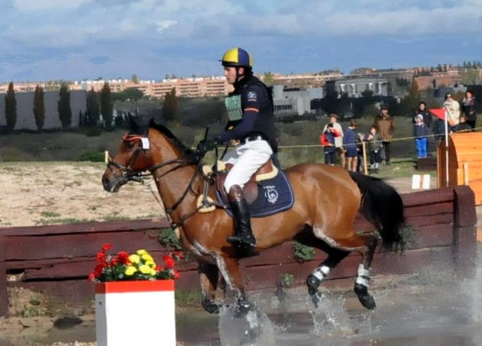 Esteban Benítez en el CCN* La Dehesa 2014 en que resultó ganador