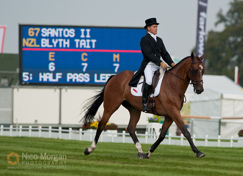 Blyth Tait and Santos II - Land Rover Burghley Horse Trials 2011