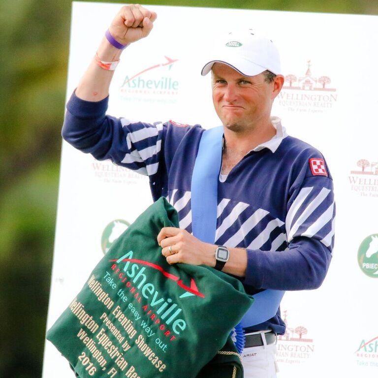 Boyd Martin tras ganar en Wellington
