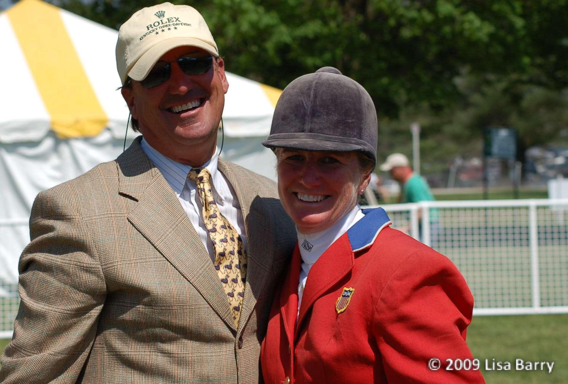 David OConnor y su mujer la gran completista Karen