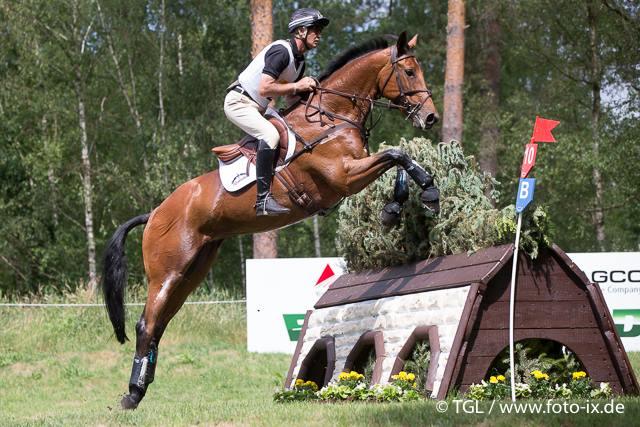 Andrew Niccholson con QWANZA. Foto de www.foto -ix. de